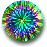 About Mystic Topaz - History and Introduction Mystic topaz is quite a new gem type, first seen around 1998. It is natural colourless (white) topaz that has been coated, giving it a unique rainbow colour effect. Therefore, it is not a gem type, but is an enhanced clear topaz.
