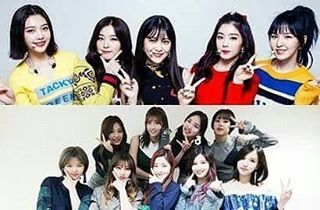 [K-POP INFO]  Jadikan SNSD Sebagai Idola dan Grup Panutan Ini Kata Twice Red Velvet Cs  WowKeren.com - Eksistensi Girls' Generation sebagai salah satu girl grup K-Pop terpopuler memang tak perlu diragukan lagi. Bahkan saat ini Tae Yeon dan kawan-kawan sudah menjadi grup legendaris yang mewakili sebuah generasi dan dikagumi para junior mereka.  Tak sedikit dari para anggota girl grup junior yang merupakan fans SNSD. Mereka bahkan bermimpi menjadi penyanyi setelah melihat SNSD di TV beberapa…