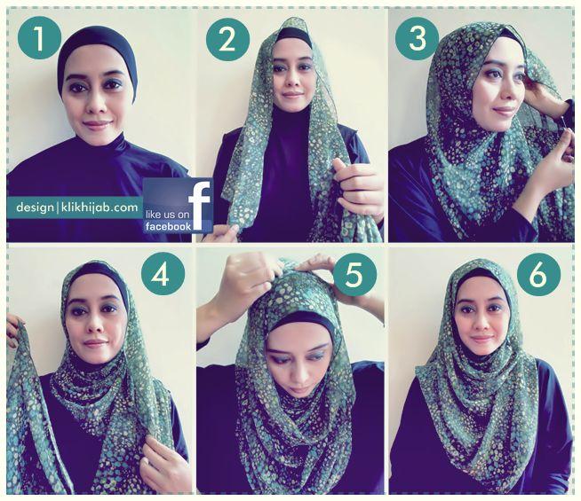 Tutorial Hijab Modern 29