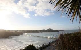 Views from the Great Western Hotel, Newquay
