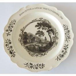 Documentary plate 1786