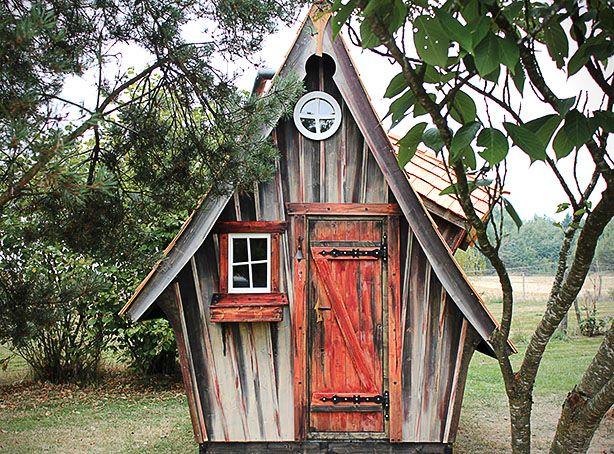 Cabane de jardin casa mirabilia une v ritable - Cabane de jardin originale ...