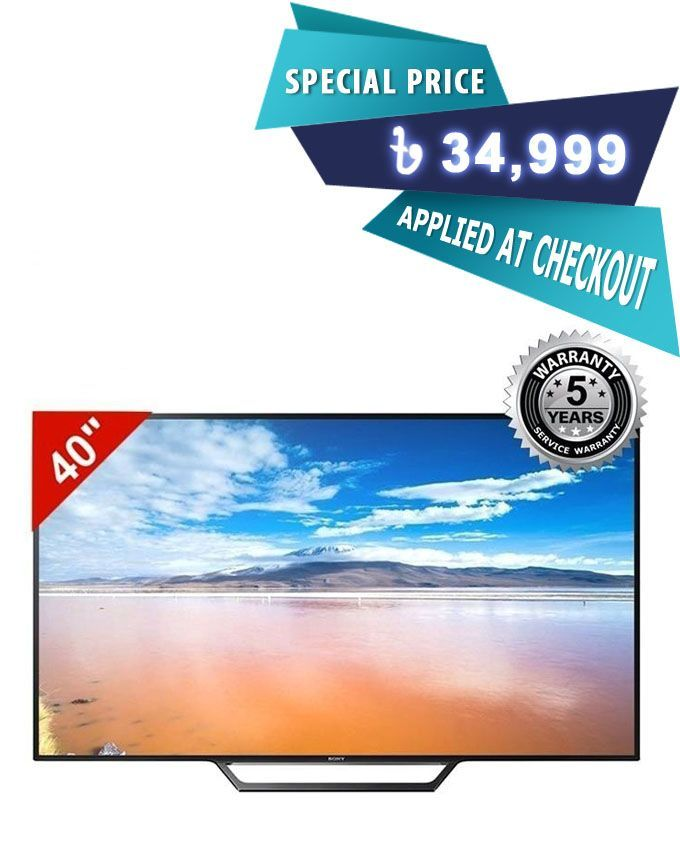 Sony 40'' W650D/652D Internet TV - Black | Buy online | Daraz Bangladesh
