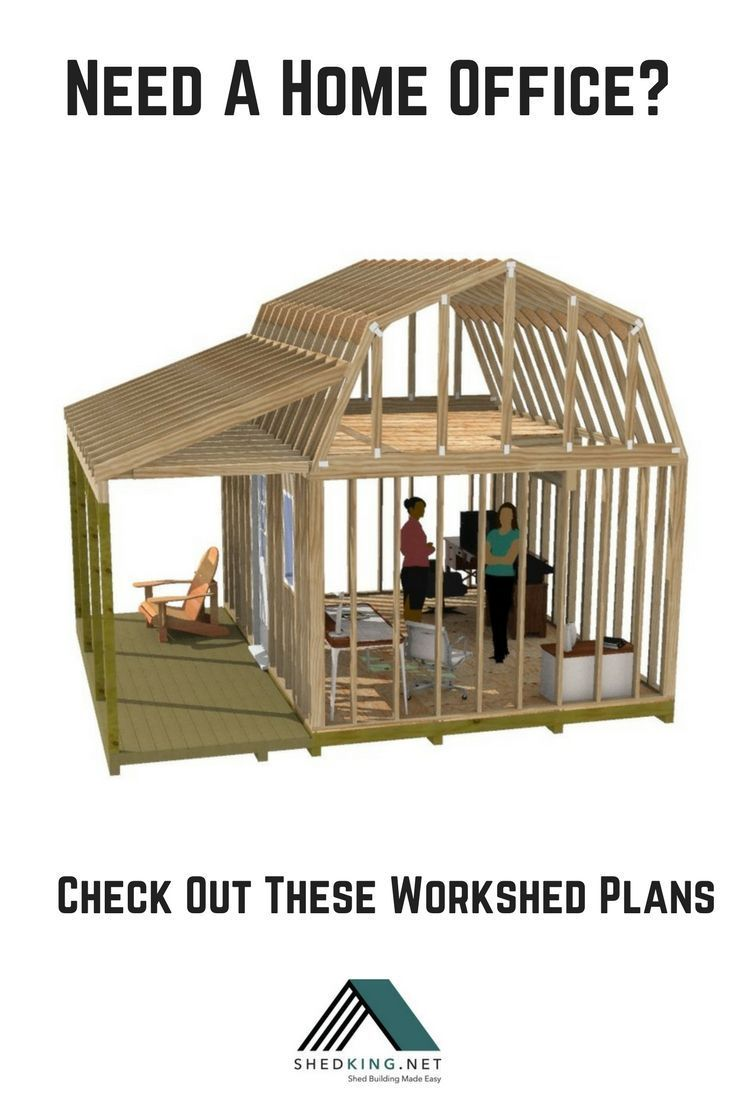 Do you need a home office but dont have the space in your home build your own work space for your home office with one of these shed plans
