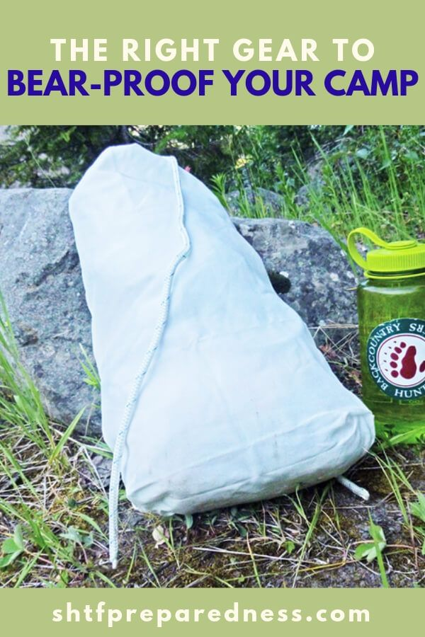 The Right Gear to Bear-Proof Your Camp | SHTF Prepping