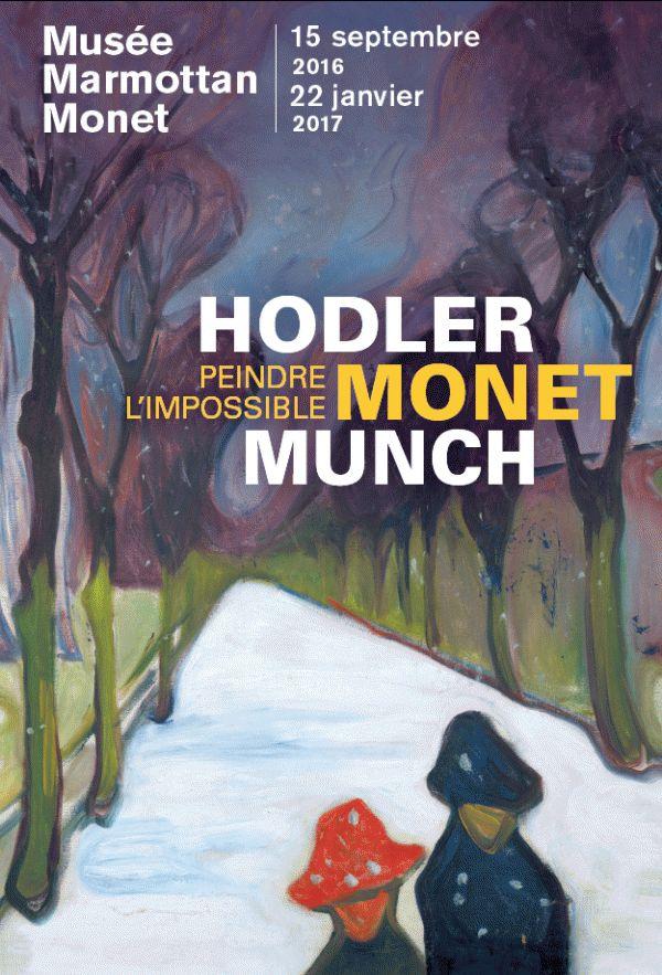 Hodler, Monet, Munch : peindre l'impossible au Musée Marmottan Monet. Affiche