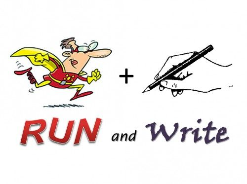* La dictée à courir / Running dictation *