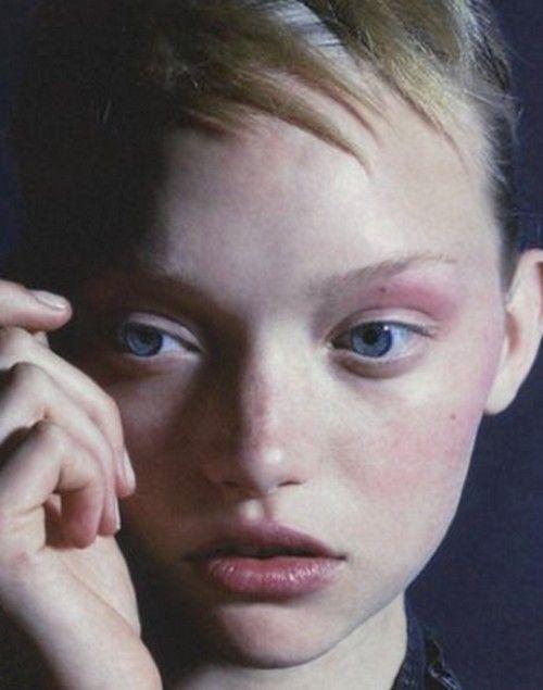 Gemma Ward by Nick Knight in i-D Magazine October 2005