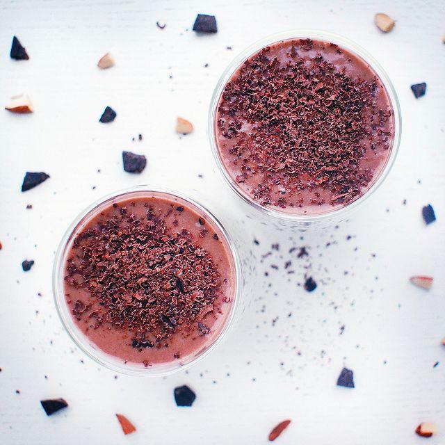 Шоколадный коктейль. Raw & Vegan