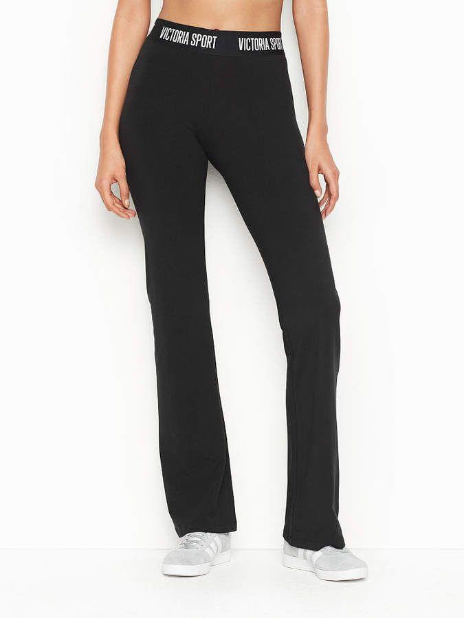 7947d47ef0 Victoria Sport Logo Flare Pant aflnk | Victoria Secret Yoga Pants in ...