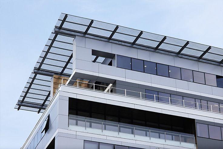 APRILIUM 2 - Lyon (69). Architecte : Agence AFAA (69), Entreprise : Diagonale (69), Photo : Gilles Aymard. Solutions WICONA utilisées : Façades MECANO Respirant VEC Droits Réservés WICONA