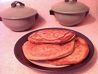 GRAIN-FREE, BEAN-FREE, VEGAN PANCAKES You'll need a good blender or a food processor.  1/2 cup whole quinoa   3/4 cup water  1 tbsp flax seed or 1 tbsp chia seed meal or omit    1/4 cup granulated sugar(sucanat, palm, or maple) or 2 tbsp agave nectar or omit sweetener or 1/4 cup organic baby carrots  1 cup ground amaranth or amaranth flour  1/2 tsp baking soda  1/3 cup water  2 tbsp organic, raw apple cider vinegar or lemon juice coconut oil for cooking