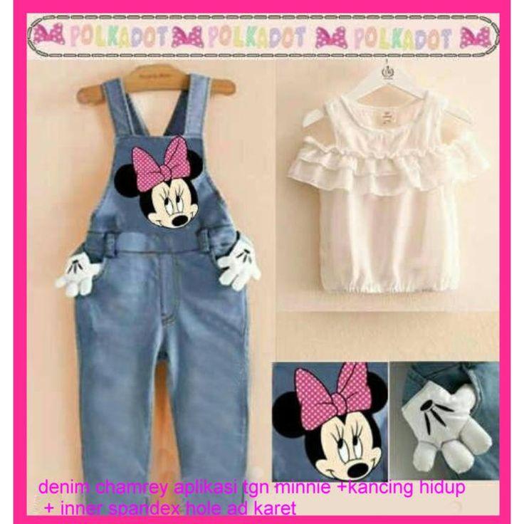 Saya menjual jumpsuit kids denim + inner kaos minnie-SHOPEE GROSIRECER-5561W3 seharga Rp75.000. Dapatkan produk ini hanya di Shopee! https://shopee.co.id/pakaiangrosirecer/309715154 #ShopeeID