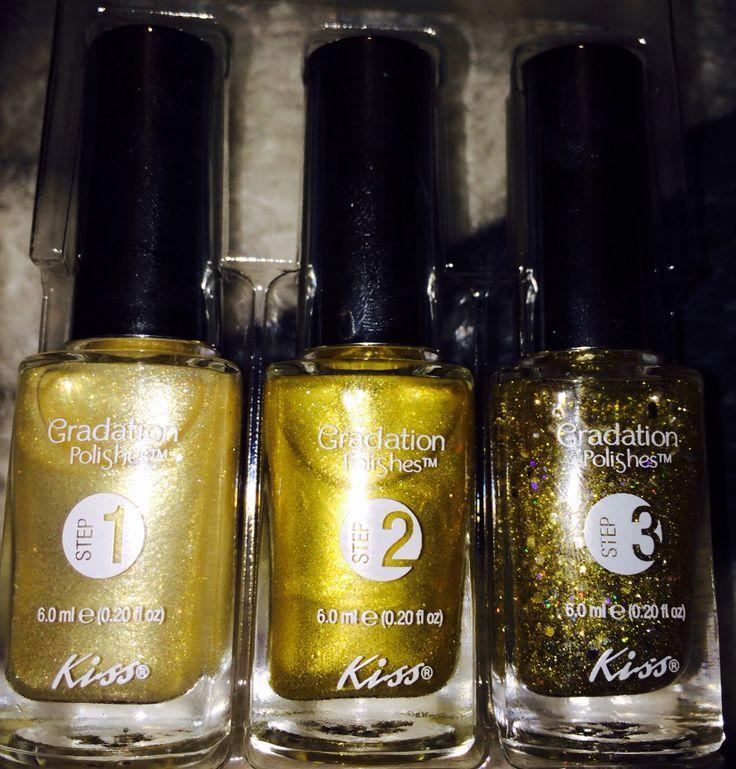 Gradation polishes!! Very nice. Three easy steps!!!
