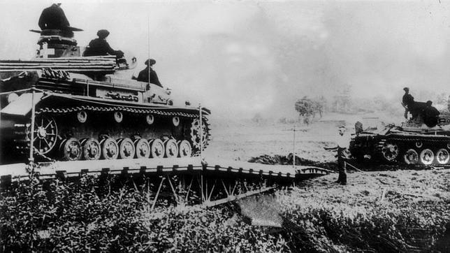 Comienza la Segunda Guerra Mundial: Alemania invade Polonia. 01/09/39