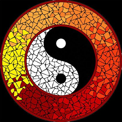 ☆Mágico y Celestial☆: ☯ Mandalas Yin Yang II ☯