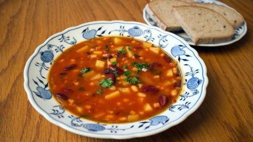 Fazolová/Bean soup