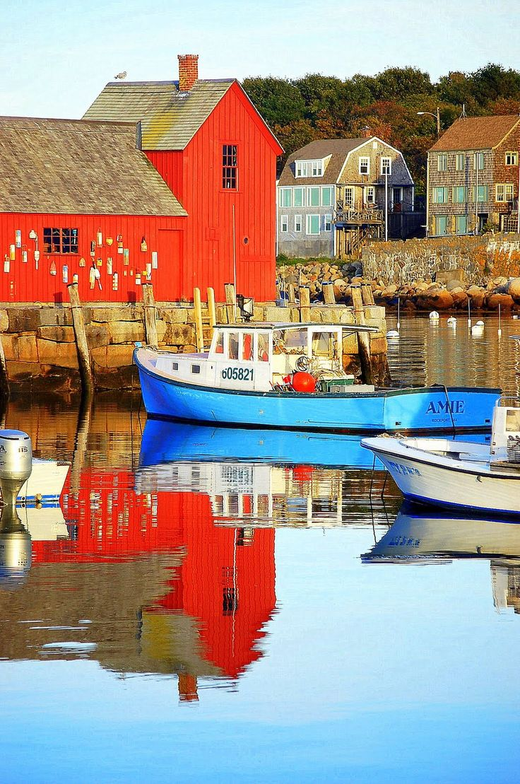 Rockport, MA - probably the most photographed and painted building in New England