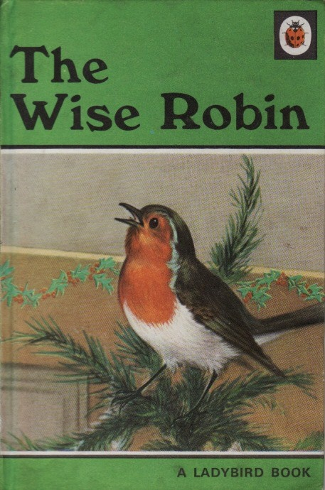 Vintage Ladybird Book THE WISE ROBIN Animal Stories Series 497 Matt Hardback…