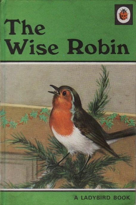 Vintage Ladybird Book THE WISE ROBIN Animal Stories Series 497 Matt Hardback…