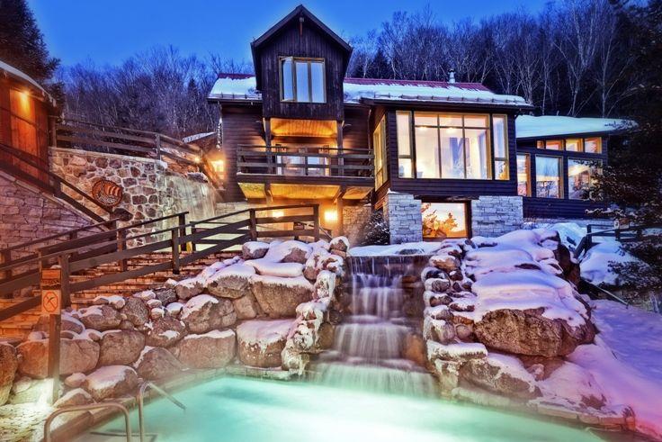 Nordic Spa and Finnish Sauna | Scandinave Spa Mont-Tremblant (Scandinavian Pools - $48)