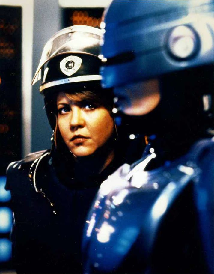 """Robocop"" (Peter Weller & Nancy Allen)"