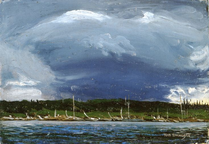 Tom Thomson - Thunderhead 1913