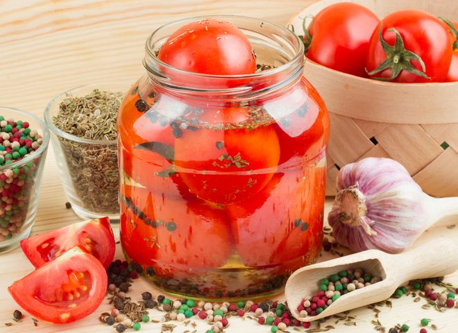 помидоры на зиму-3 оригинальных рецепта