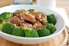 Recept gebraden sojasaus kippenvleugels © MEVRYAN.COM #Chinees #koken #recept #kip #sojasaus