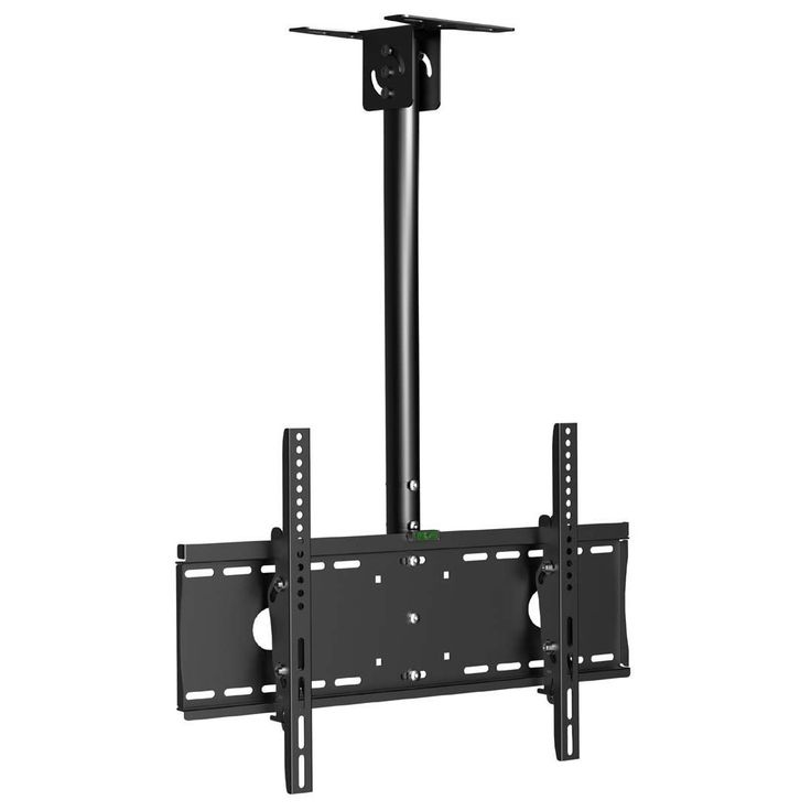 Mount your LCD or LED flat panel TV to the ceiling with this great tilt ceiling mount from Arrowmounts. This mount can hold up to 99 pounds of your 32-inch to 55-inch TV with tilt angles that range fr