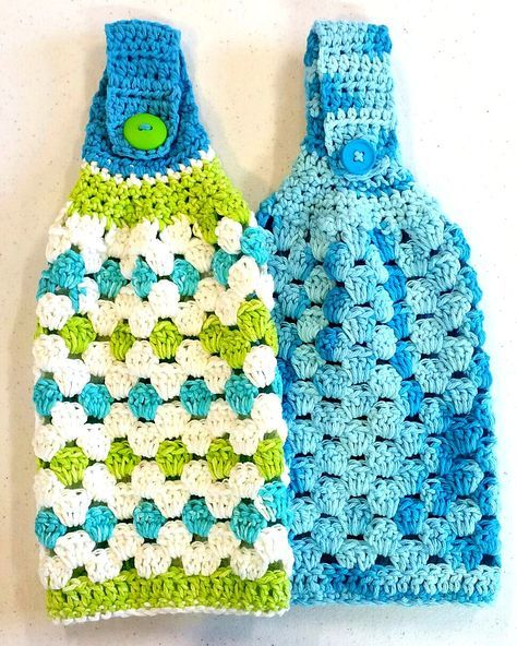 Hanging Towel By Heidi Yates - Free Crochet Pattern - (ravelry)