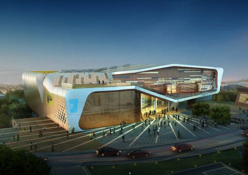 Health & Sports Education Center   Kang Chul-Hee + Idea Image Institute of Architects - Arch2O.com