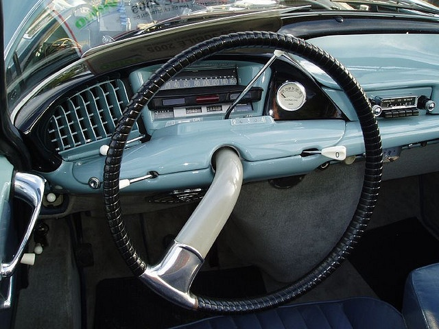 Citroen DS Decap interior. Probably my favourite car interior of all time.