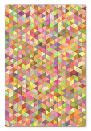 Happy summer triangles tissue paper