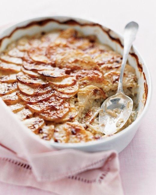 Easter Side Dishes // Scalloped Potatoes with Leeks Recipe