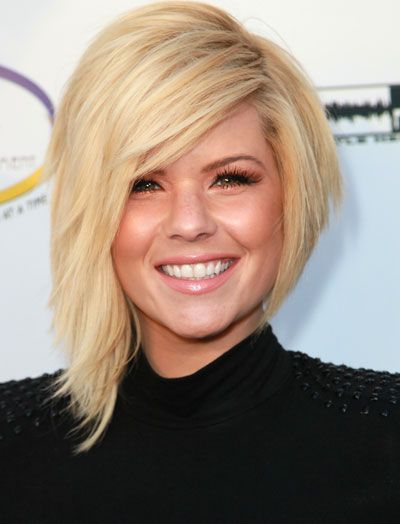 Think I want to do my hair like this! Mine is close, it's quirky having one side shorter :P