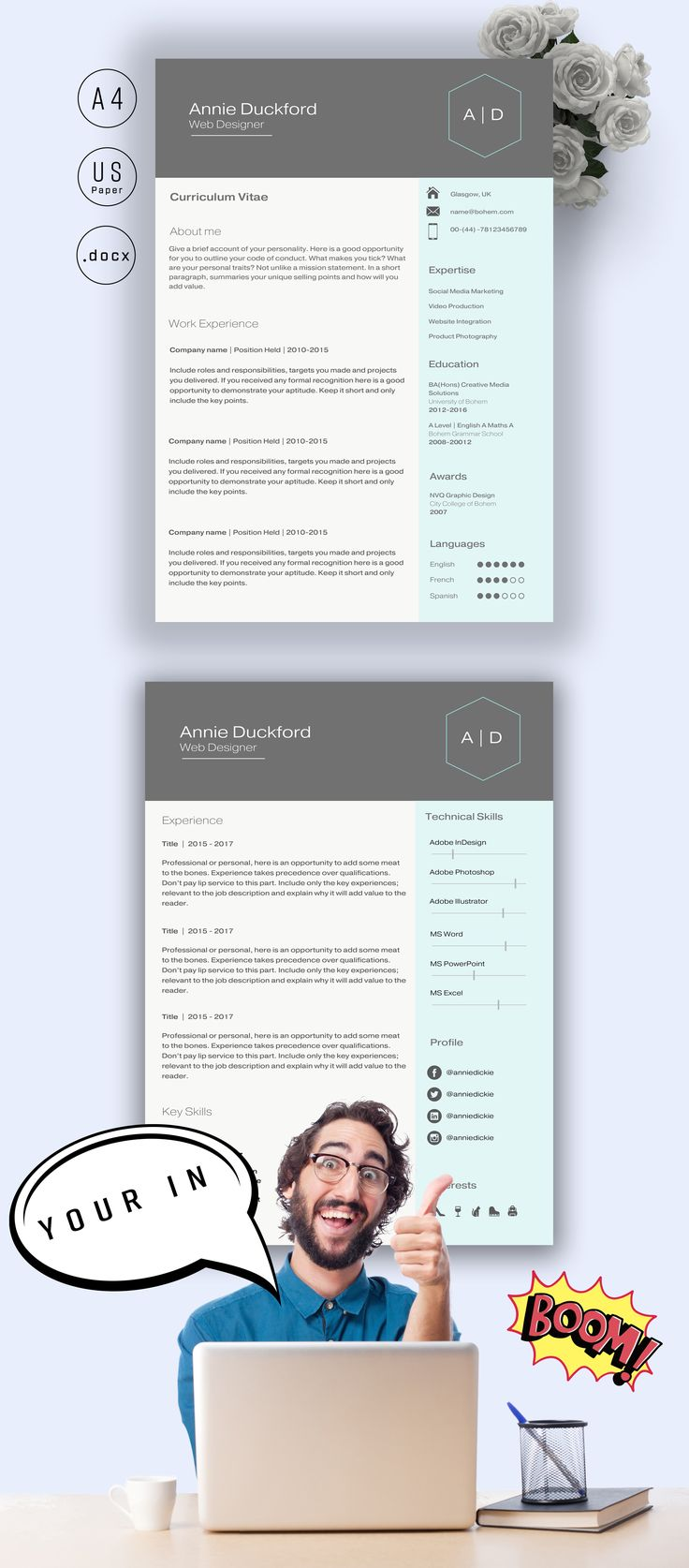 10  ideas about resume design template on pinterest