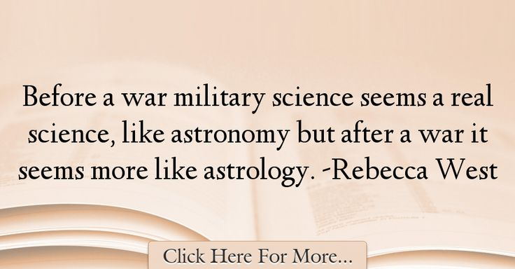 Rebecca West Quotes About War - 72219