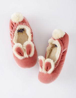 Velvet Bunny Slippers