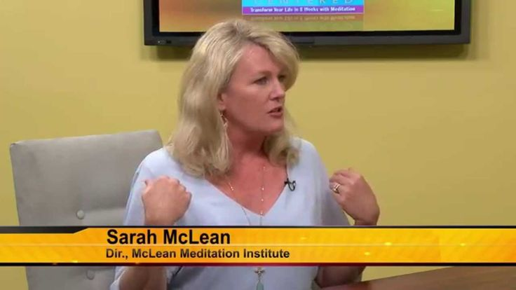 Sarah McLean discusses meditation and mindfulness on Morning Scramble AZ-TV.