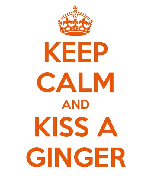 everythingginger:  According to RedheadDays, it's Kiss A Ginger Day today so Happy Kiss A Ginger Day Everyone!