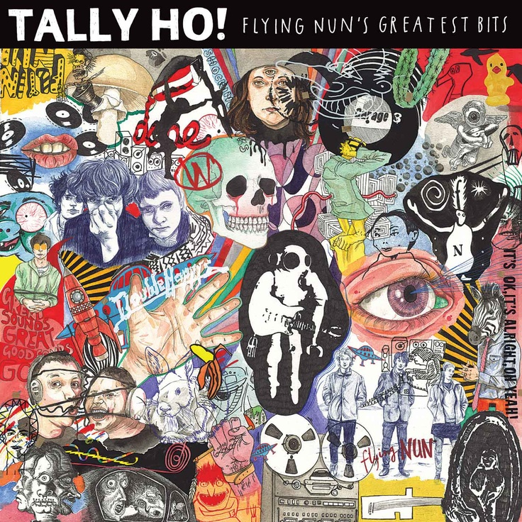 Tally Ho! Flying Nun's Greatest Bits cover art