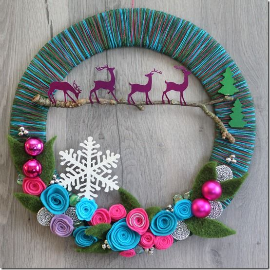Christmas/winter wreath