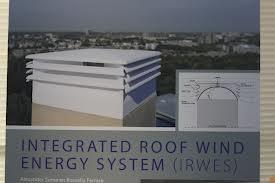 De windturbine IRWES (Integrated Roof Wind Energy System) - Google zoeken