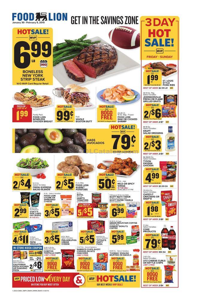 Food lion weekly ad january 30 february 5 2019 do you
