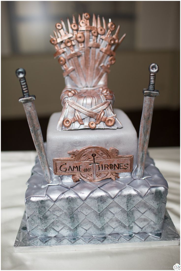 Game of Thrones Grooms Cake