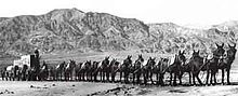 The product is named after the 20-mule teams that were used by William Tell Coleman's company to move borax out of Death Valley, California, to the nearest rail spur between 1883 and 1889.