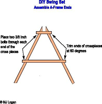PDF Plans How To Build Wood A Frame Swing Download diy ...