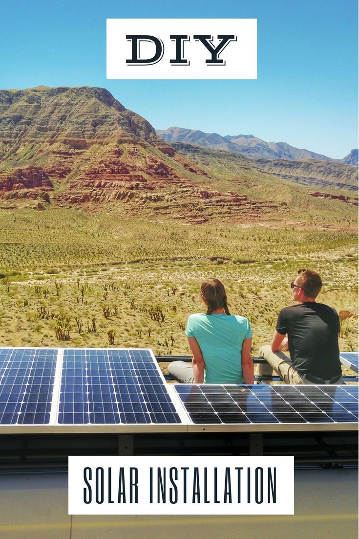 Easy To Follow Instructions For How To Install Solar On A Campervan Rv Truck Camper Or Travel Trailer Complete With Wi Solar Panels Solar Best Solar Panels
