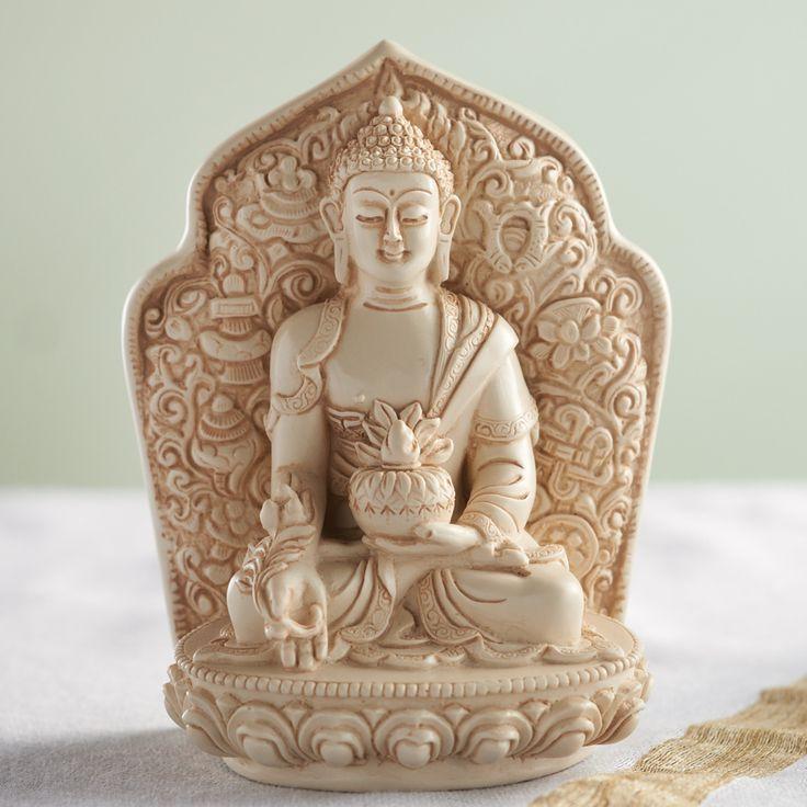 Tsa'tsa Statue of the Medicine Buddha at DharmaCrafts